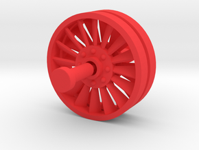 Acroyear Fan Service in Red Processed Versatile Plastic: Medium