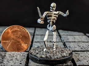 Skeleton with Attitude in Smooth Fine Detail Plastic