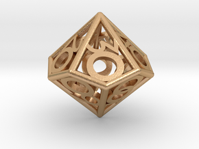 D00 Balanced - Numbers Only in Natural Bronze