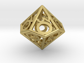 D00 Balanced - Numbers Only in Natural Brass