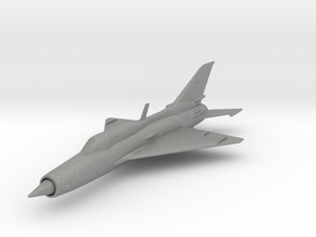 Mikoyan-Gurevich MiG-21 in Gray Professional Plastic