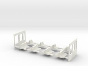 G2 Exkursionswagen Inneneinrichtung in White Natural Versatile Plastic