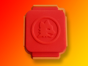 Finowall Lupa - Protect the Finowatch watch in Red Processed Versatile Plastic