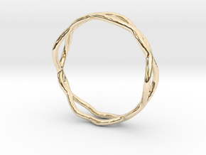 Ring 07 in 14k Gold Plated Brass