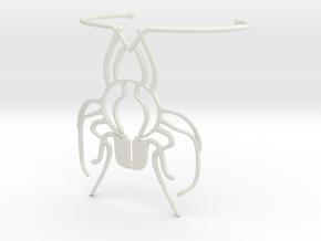 Beeblebracelet in White Natural Versatile Plastic