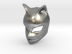 The Fox Spirit in Natural Silver