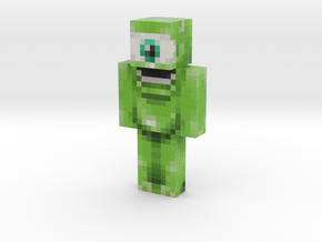 Mike   Minecraft toy in Natural Full Color Sandstone