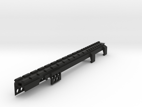 G3 T3 SAS Top Full Length Picatinny Rail in Black Natural Versatile Plastic