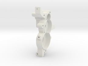 TRF201/211 3 Gear Laydown Right Hand Gearbox in White Natural Versatile Plastic