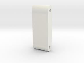 TRF211 3 Gear Transmission Brace in White Natural Versatile Plastic