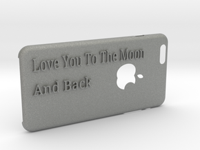love you to the moon Iphone6Plus case in Gray PA12