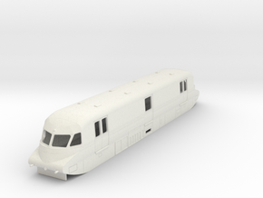 o-100-gwr-parcels-railcar-no-17 in White Natural Versatile Plastic