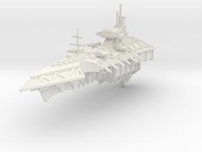 Crucero clase Sacrificio in White Natural Versatile Plastic