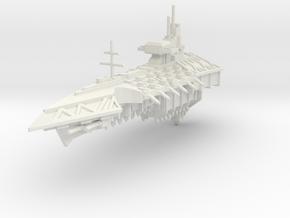 Crucero clase Asesinato in White Natural Versatile Plastic