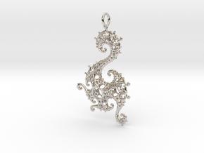 Klein Dragon Pendant in Platinum