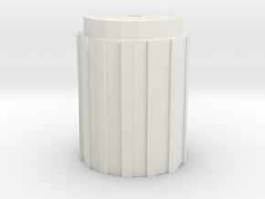 CM-10-H  in White Natural Versatile Plastic