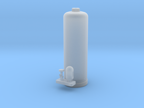 Acetylene Tank 1:20.3 scale in Smooth Fine Detail Plastic