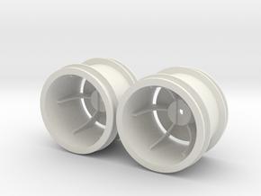 Marui Ninja Rear Rims in White Natural Versatile Plastic