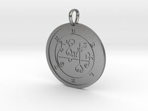 Beleth Medallion in Natural Silver