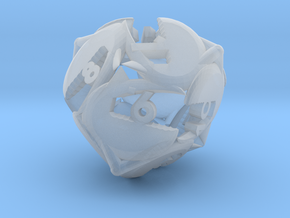 Crab claw d12 in Smooth Fine Detail Plastic