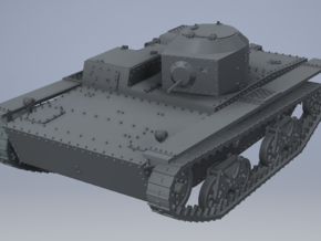 1/72nd (20 mm) scale T-38 tank in Smooth Fine Detail Plastic