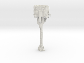 14 inch Nebulon B Medical Frigate pt1 in White Natural Versatile Plastic