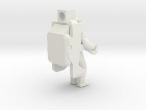 Astro_Ornament in White Natural Versatile Plastic