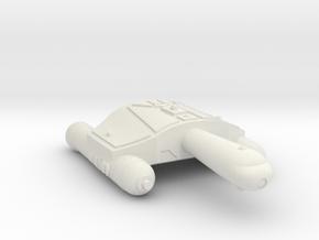 3788 Scale Romulan SeaHawk-A Frigate WEM in White Natural Versatile Plastic