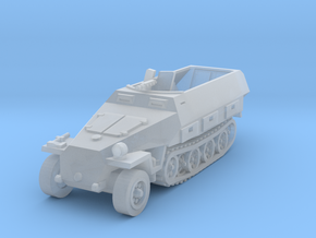Sdkfz 251 scale 1/160 in Smooth Fine Detail Plastic