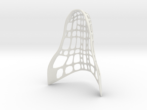 Mask: Dragon Jaw in White Natural Versatile Plastic