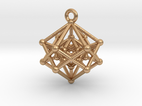 Introspection Pendant in Natural Bronze