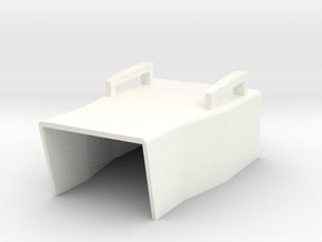 1.6 A10 MIBO COCKPIT (A) in White Processed Versatile Plastic