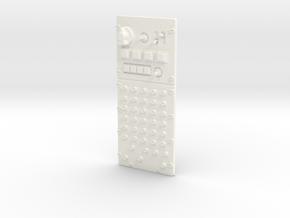 1.6 A10 MIBO COCKPIT (B) in White Processed Versatile Plastic