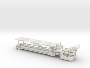 1/50th Dual Belt Conveyor in White Natural Versatile Plastic