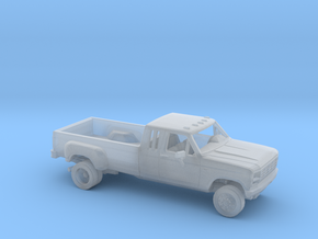 1/87 1980-86 Ford F-Series Ext.Cab Dually Kit in Smooth Fine Detail Plastic