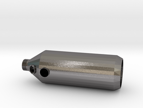 Biomass Combustion Chamber in Polished Nickel Steel