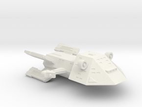 3125 Scale WYN (Kzinti-Built) War Destroyer SRZ in White Natural Versatile Plastic