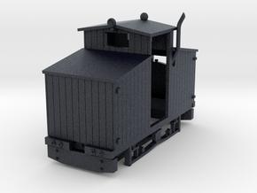 Hartelius loco in Black Professional Plastic: 1:35