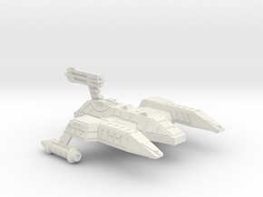 3788 Scale Lyran Refitted Lioness Heavy Cruiser in White Natural Versatile Plastic
