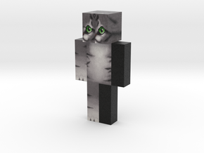 HD_Warrior_Cat | Minecraft toy in Natural Full Color Sandstone