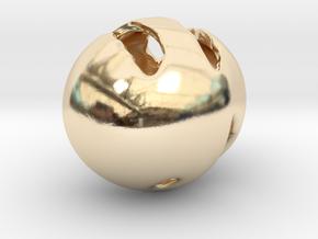 Fenrir Prospect - Pendant - Orphic Eggs in 14K Yellow Gold