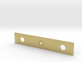 NS 5500 bufferbalk achter NS versie in messing v2 in Natural Brass