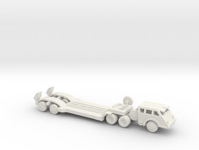 1/200 Scale Dragon Wagon Set in White Natural Versatile Plastic