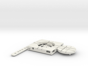 T-9-wagon-turntable-36d-100-plus-base-flat-1a in White Natural Versatile Plastic