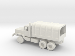 1/200 Scale M929 Cargo Truck Covered in White Natural Versatile Plastic