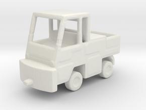 1/200 Scale NATO Hanger Tractor in White Natural Versatile Plastic