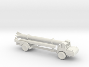 1/200 Scale MGM-5 Corporal Missile And Transporter in White Natural Versatile Plastic