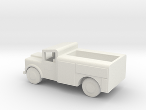 1/200 Scale M726 Jeep 1 25 Ton Maintenance Truck in White Natural Versatile Plastic