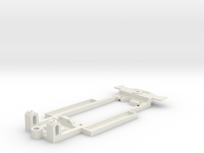 Chassis for Ninco '56 Corvette in White Natural Versatile Plastic