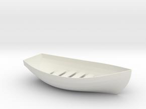 Boat Soap Holder in White Natural Versatile Plastic